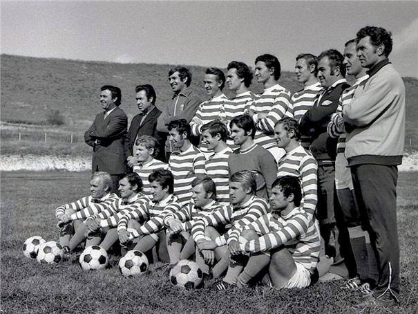 Команда Таврия на базе в Почтовом. 1973 год